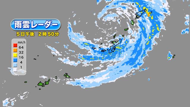 雨雲 沖縄 レーダー 天気