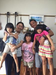 ゆばみうさん・家族写真